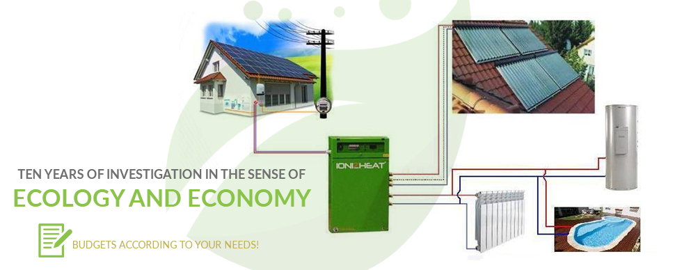 Safe and ecological heating with the
